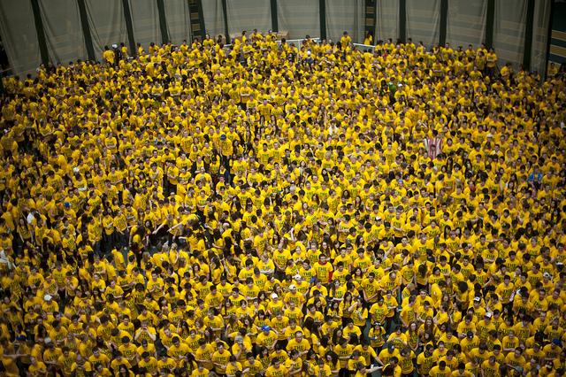 het grootste potje trefbal ter wereld