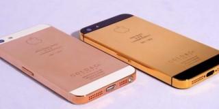 Gouden iPhone 5