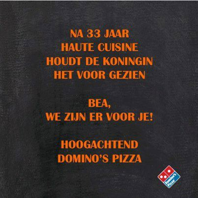 Dominos-troonafstand