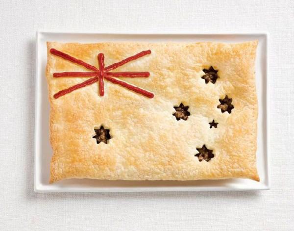 Australia-Food-Flag