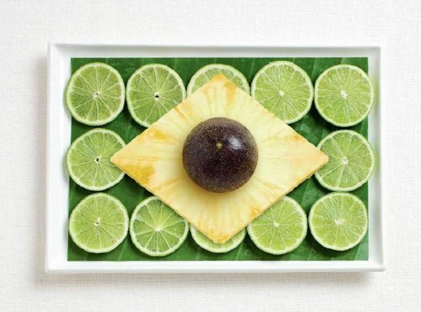 Brazil-Food-Flag