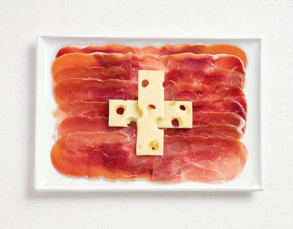 Switzerland-food-flag