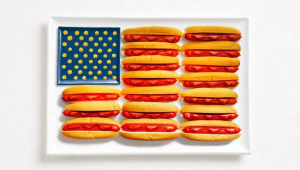 United-States-Food-Flag