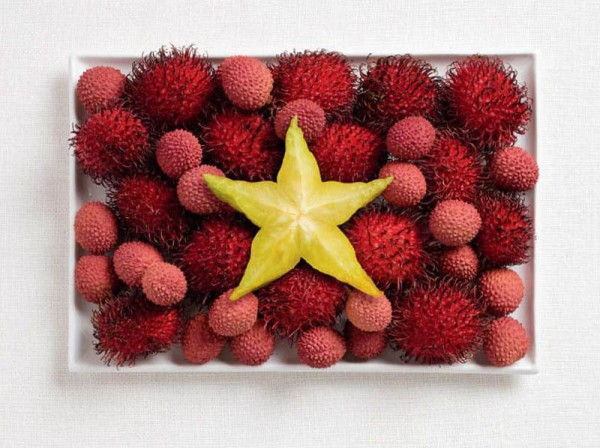 Vietnam-Food-Flag