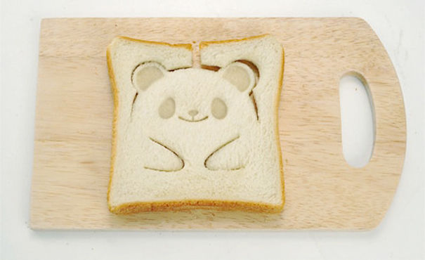 Design Keuken Gadgets : Teddy Bear Toast