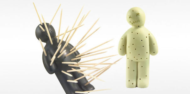 Design Keuken Gadgets : Voodoo Toothpick Holder