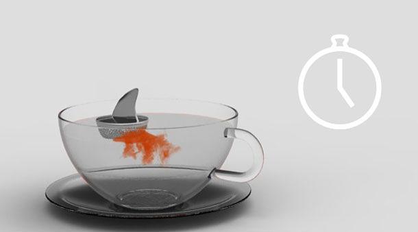 Design Keuken Gadgets : Sharky Tea Infuser